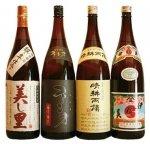 鹿児島芋焼酎 おすすめ4本(伊佐美・晴耕雨讀・不二才・美し里) 飲み比べセット