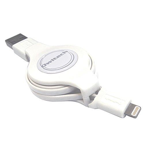 オウルテック 巻取り式 ライトニングケーブル Apple認証 ...