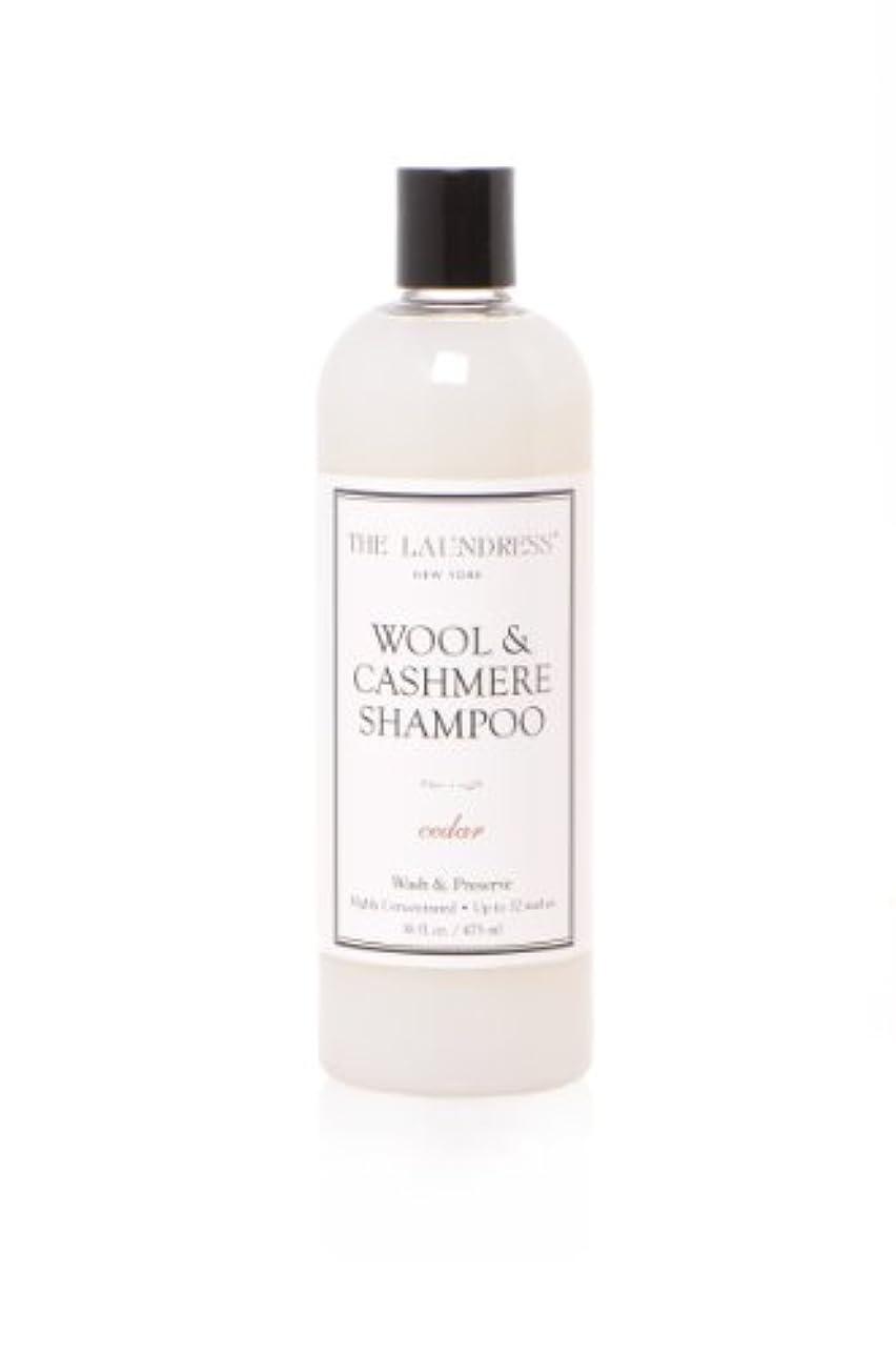 メジャー収縮枝THE LAUNDRESS(ザ?ランドレス)  ウールカシミアシャンプー cedarの香り475ml