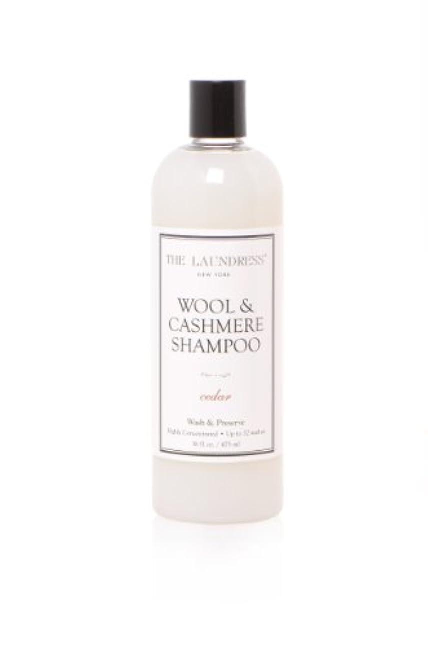 する豆通貨THE LAUNDRESS(ザ?ランドレス)  ウールカシミアシャンプー cedarの香り475ml