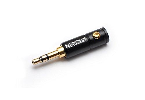 自作用プラグ NOBUNAGA 3.5mm stereo plug