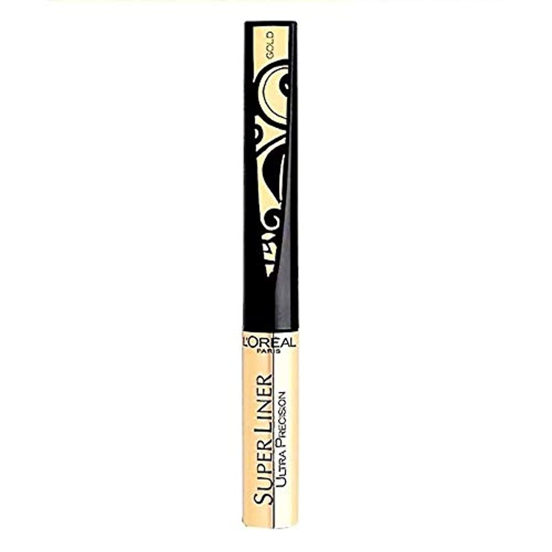 メンダシティエイリアスデコードするL'Oréal Paris Super Liner Ultra Precision Farbe: Gold/Schwarz Inhalt: 1,5ml Liquid Eyeliner für einen unvergesslich...