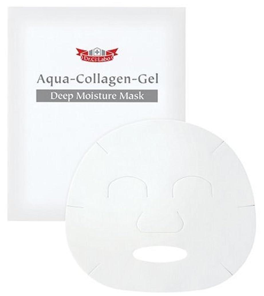 カイウス農学先史時代のドクターシーラボ アクアコラーゲンゲル ディープモイスチャー マスク  5枚入り