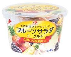 北海道乳業 フルーツサラダヨーグルト 130g×12個
