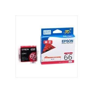 (業務用40セット) EPSON エプソン インクカートリッジ 純正 【ICR66】 レッド(赤) AV デジモノ パソコン 周辺機器 インク インクカートリッジ トナー インク カートリッジ エプソン(EPSON)用 top1-ds-1730781-ak [簡易パッケージ品]