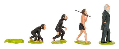 ダーウィンの進化論プレイセット― 猿人から天才へ 5体セット