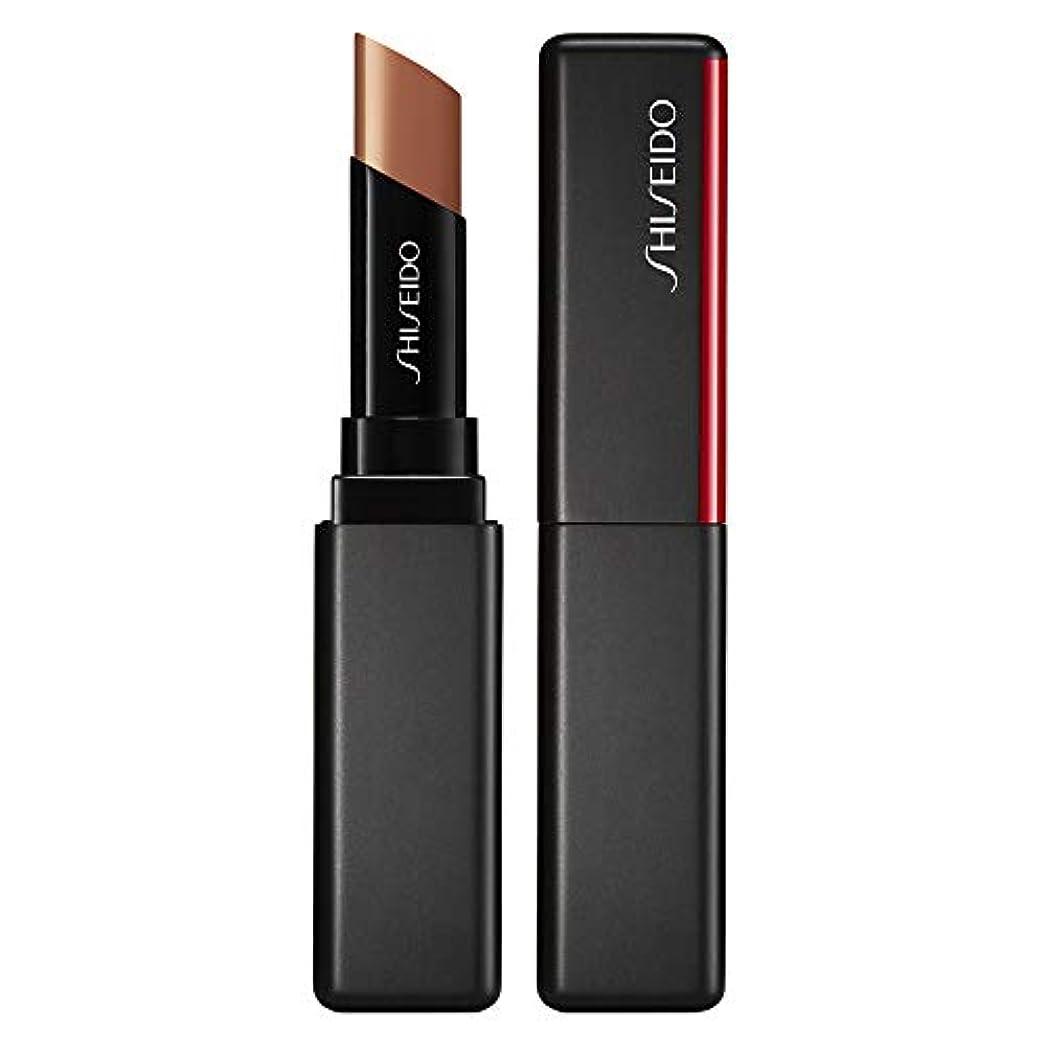 伝染病デッキ偽善資生堂 VisionAiry Gel Lipstick - # 201 Cyber Beige (Cashew) 1.6g/0.05oz並行輸入品