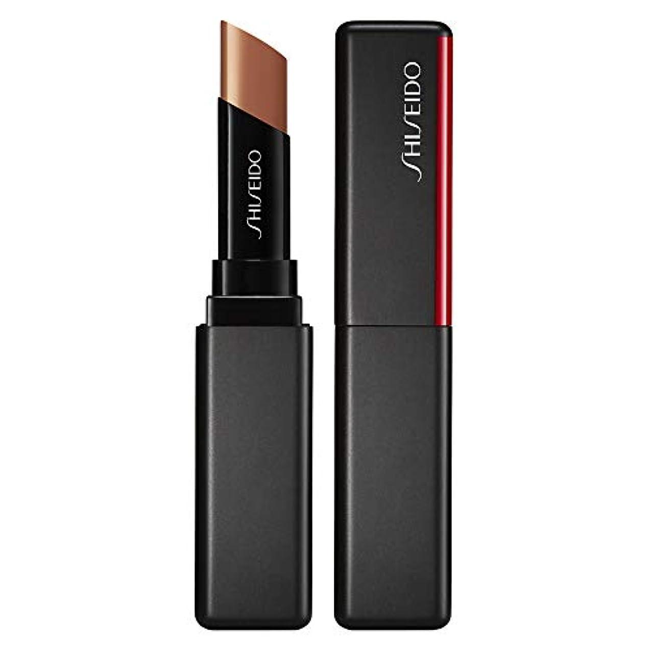 事前クライマックス頂点資生堂 VisionAiry Gel Lipstick - # 201 Cyber Beige (Cashew) 1.6g/0.05oz並行輸入品