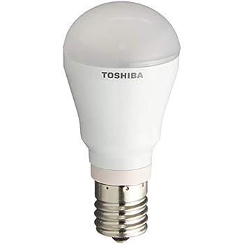 東芝 LED電球 E-CORE(イー・コア) ミニクリプトン形 5.7W 口金直径17mm 昼白色 LDA6N-D-H-E17/S