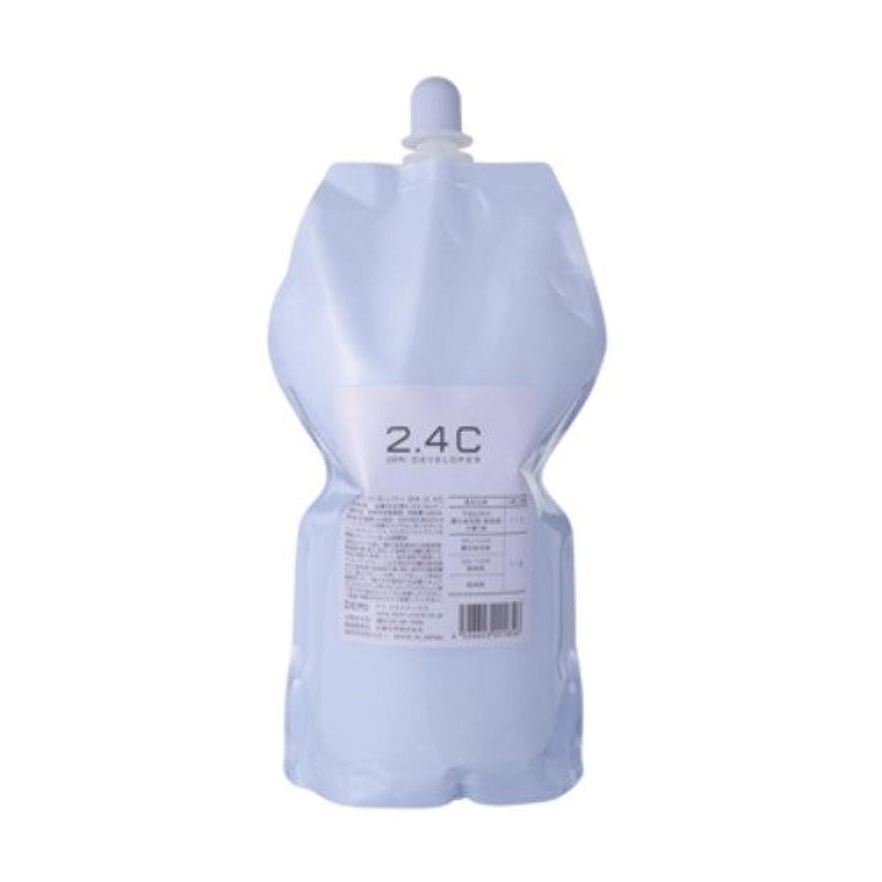 メガロポリス結論シニスデミ ディベロッパー オキシ 2.4%(2剤)