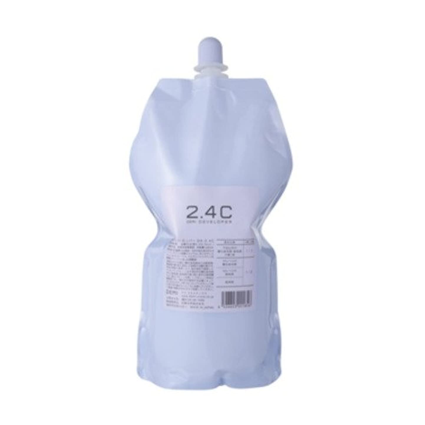 夕暮れカウンタいたずらデミ ディベロッパー オキシ 2.4%(2剤)