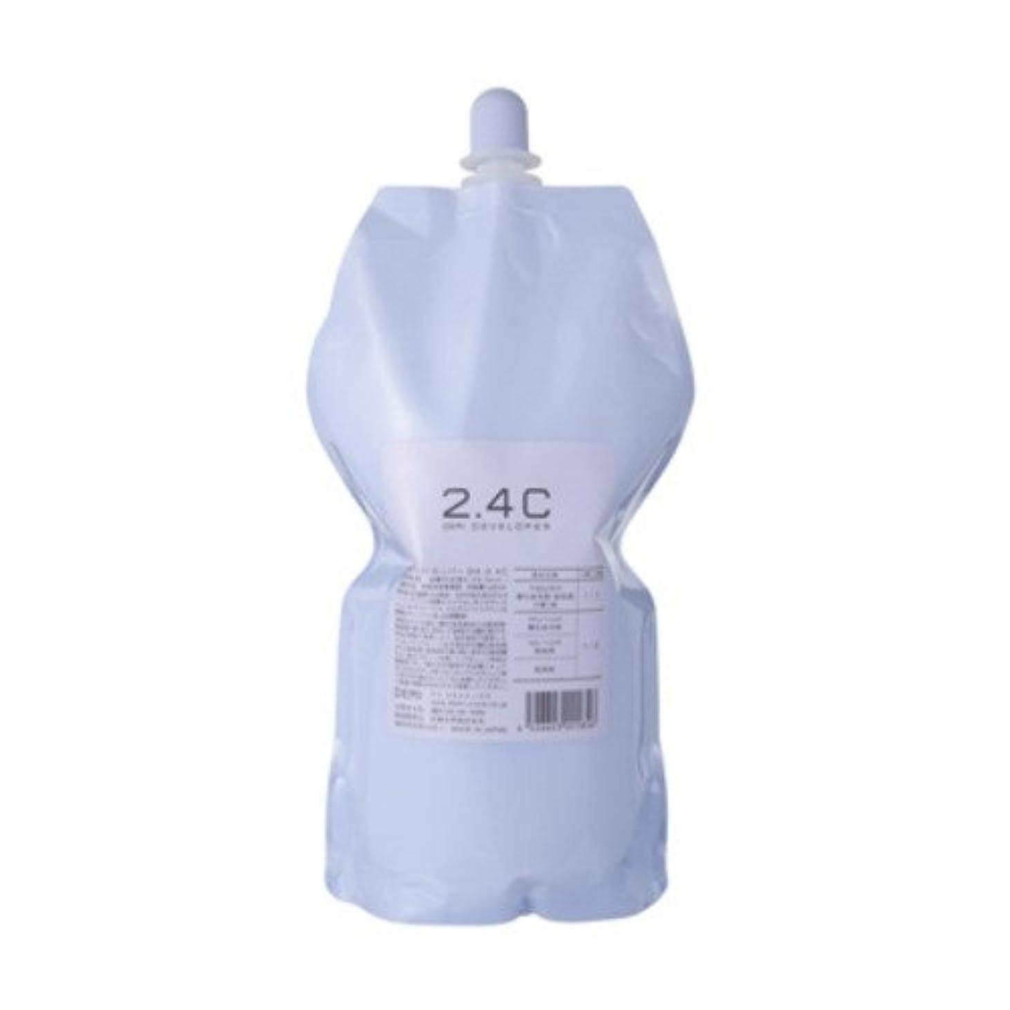 基礎理論啓示不承認デミ ディベロッパー オキシ 2.4%(2剤)