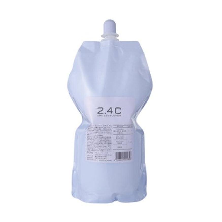 エージェント警官繁栄デミ ディベロッパー オキシ 2.4%(2剤)