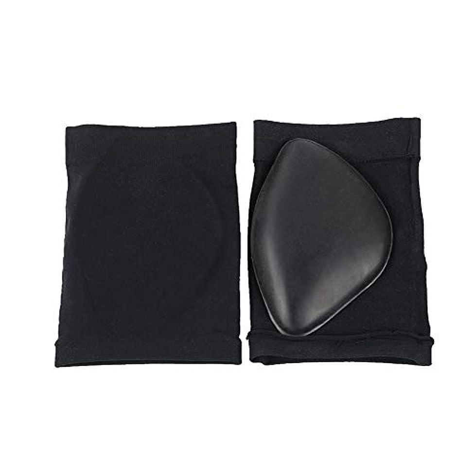 爬虫類リーズ悪意のある2ペア 圧縮 アーチサポート 袖の靴下 と コンフォートジェルパッド クッション、 平足用アーチブレース 足底筋膜炎 袖 靴 インソールを挿入してください、 に役立ちます 足の痛みの軽減,Black2pairs