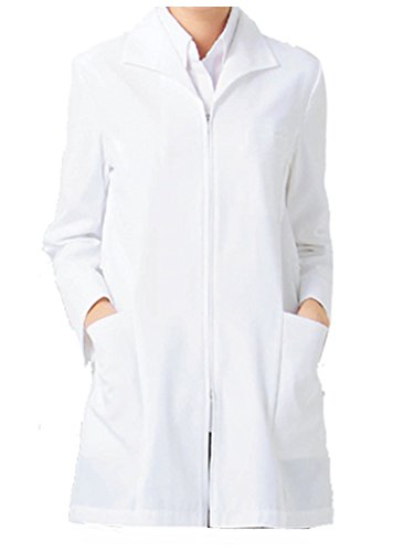 [해외](카젠) KAZEN AP-RON 아뿌론 백의 여자 하프 코트 128-90/(Kazen) KAZEN AP-RON APRON White Coat Girls Half Coat 128 - 90