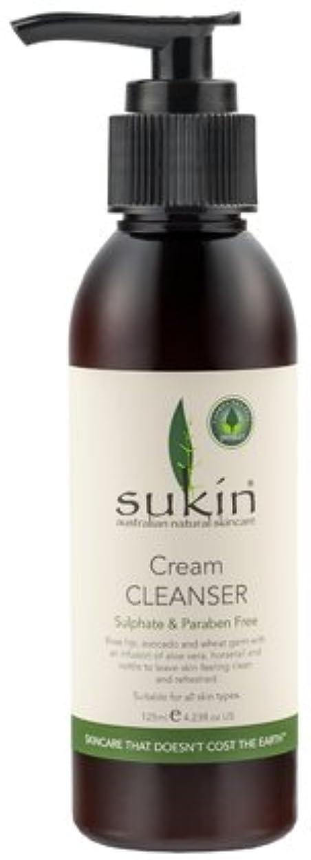 スクラップブック圧縮悪行[Sukin Cream Cleanser] スキン クリームクレンザー