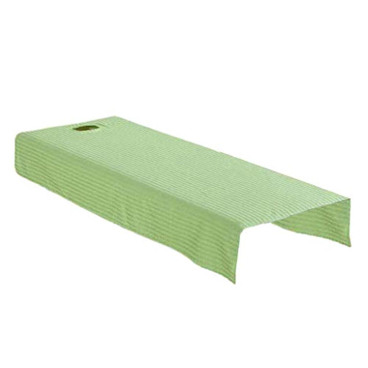 ペインうん消毒剤マッサージベッドカバー 有孔 スパベッドカバー マッサージテーブルシート 全2サイズ - 120x190cm
