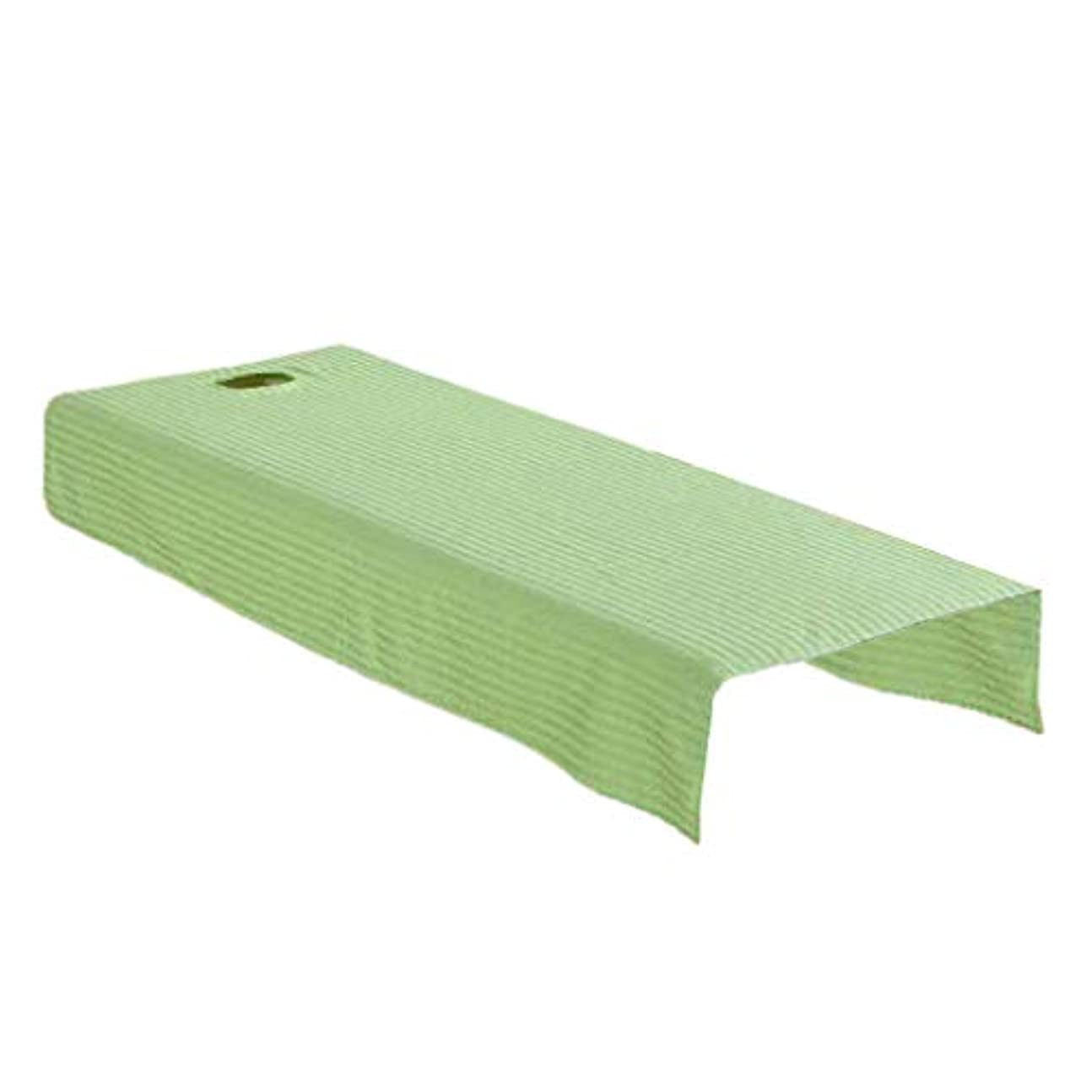 昼寝ローマ人モーテルマッサージテーブル カバー 有孔 ビューティーシート ソフト ノンスティック 快適 全2サイズ - 80x190cm