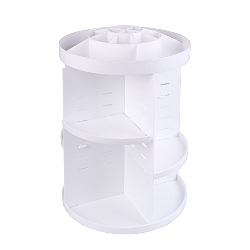 Sepoveda メイクボックス メイクケース コスメボックス 化粧品収納ボックス コスメ収納スタンド 360度回転...
