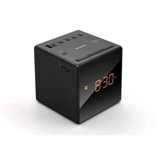 Sony Clock Radio, Black (ICFC1B)