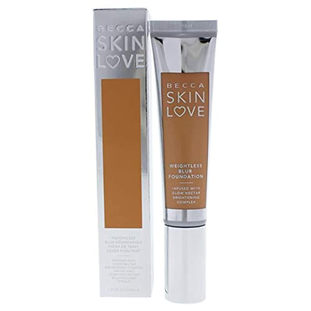 絶滅した敬結晶ベッカ Skin Love Weightless Blur Foundation - # Noisette 35ml/1.23oz並行輸入品
