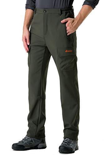 03c185b8ebf02b clothin(クロスン)秋冬 フリース登山パンツ アウトドア トレッキングパンツ 裏起毛 速乾 撥