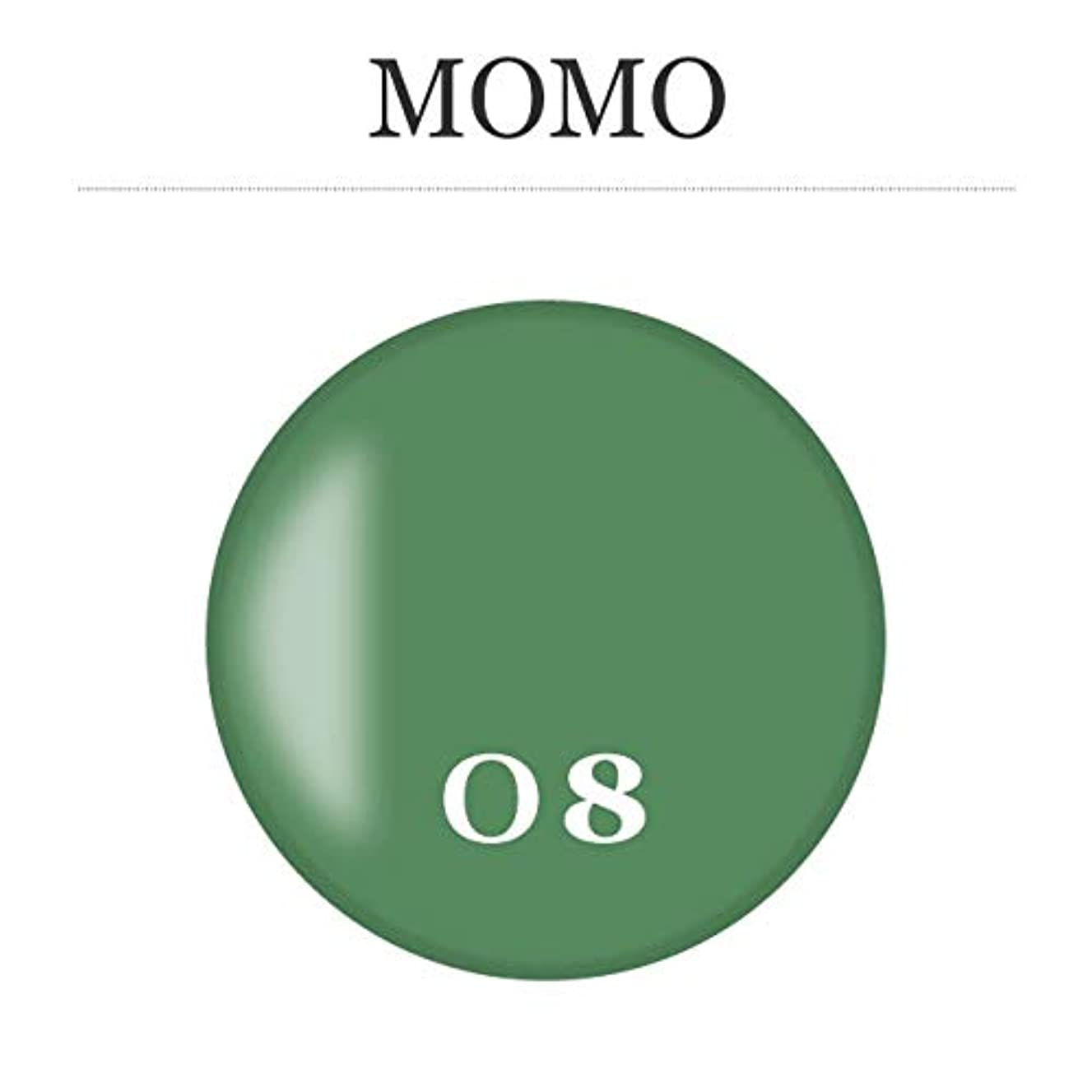 選出する水を飲む染色カラージェル MOMO-08 by nail for all