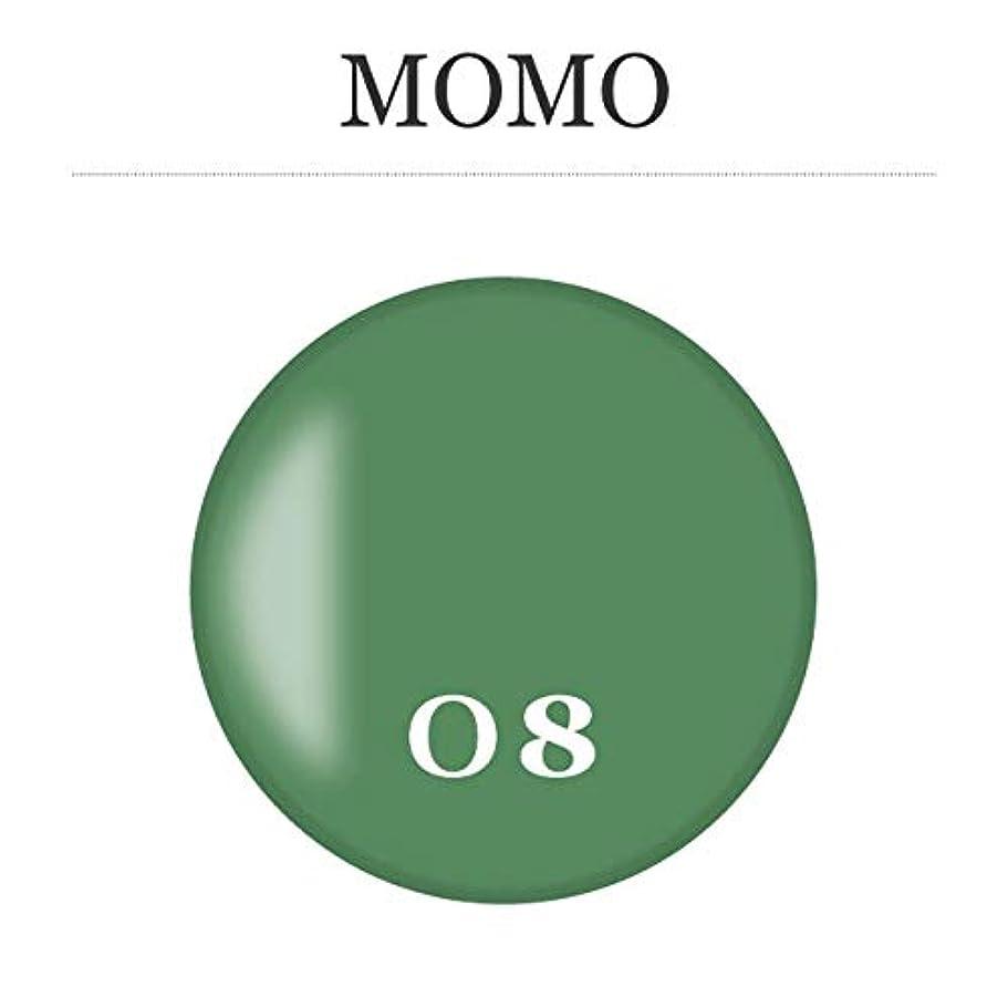 浸したセンターその後カラージェル MOMO-08 by nail for all