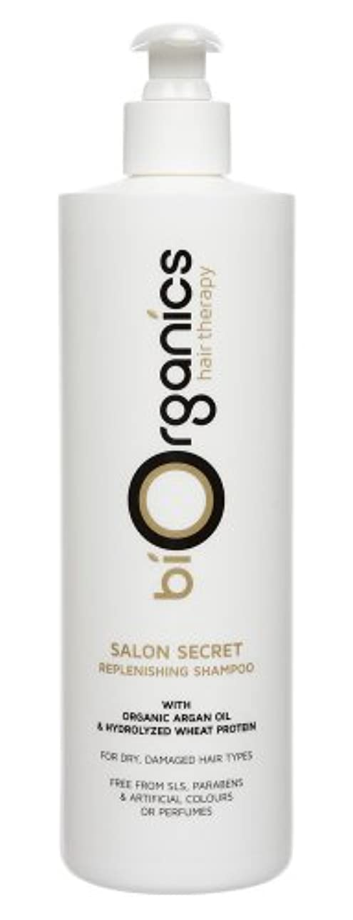 非常にシャーロックホームズ形容詞Biorganics - Salon Secret, Argan Oil Repair Shampoo 500ml