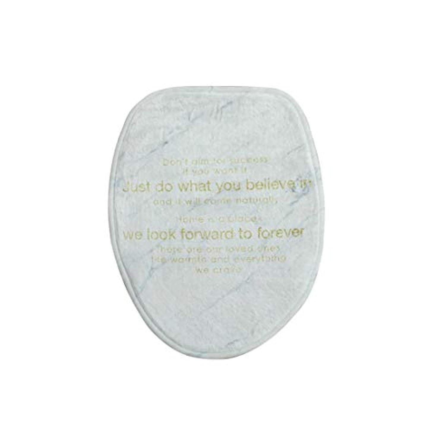 エジプトセメント装備するSwiftgood スティッキー便座ふたウォームカバーパッド洗面化粧台ウォーマーマット用バスルーム