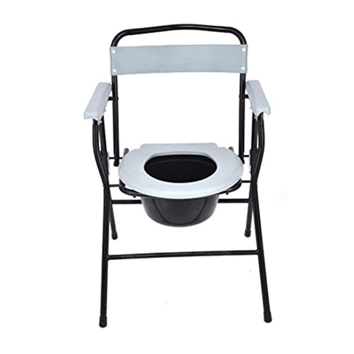 記述する人一杯妊娠中の女性高齢者障害者のためのポータブルトイレ便座フレーム、モバイルトイレ老人障害者用椅子、