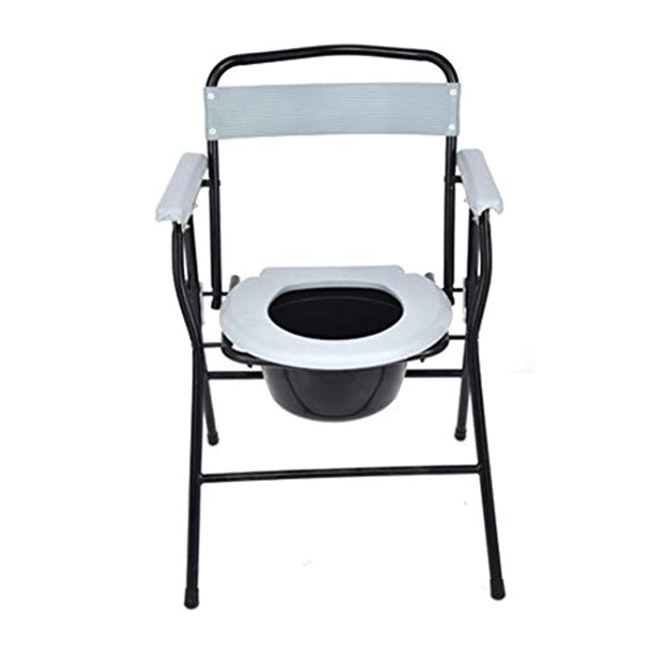 十億破滅スーパーマーケット妊娠中の女性高齢者障害者のためのポータブルトイレ便座フレーム、モバイルトイレ老人障害者用椅子、