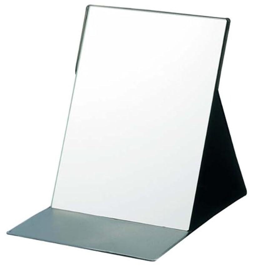 ブラスト手数料露出度の高いビークリア 折立ミラー ブラック YBC-1201