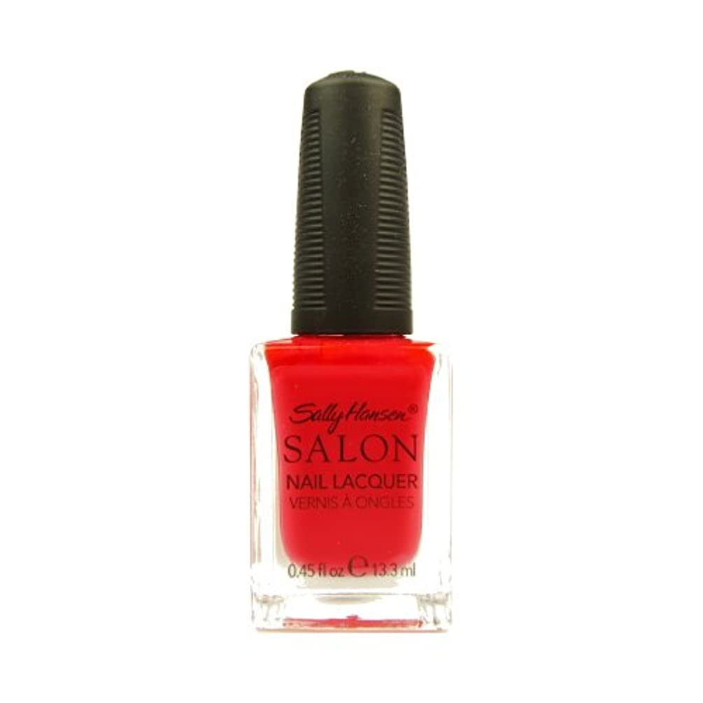 国籍役に立つビーム(6 Pack) SALLY HANSEN Salon Nail Lacquer 4120 - Orange You Cute? (並行輸入品)
