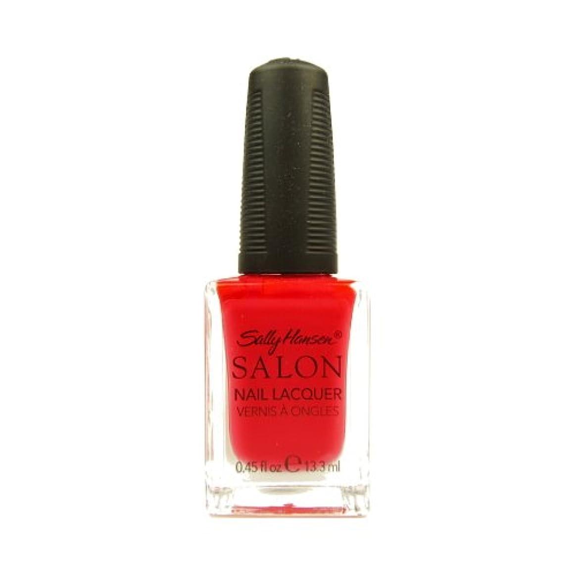 批判する進行中スリラー(6 Pack) SALLY HANSEN Salon Nail Lacquer 4120 - Orange You Cute? (並行輸入品)