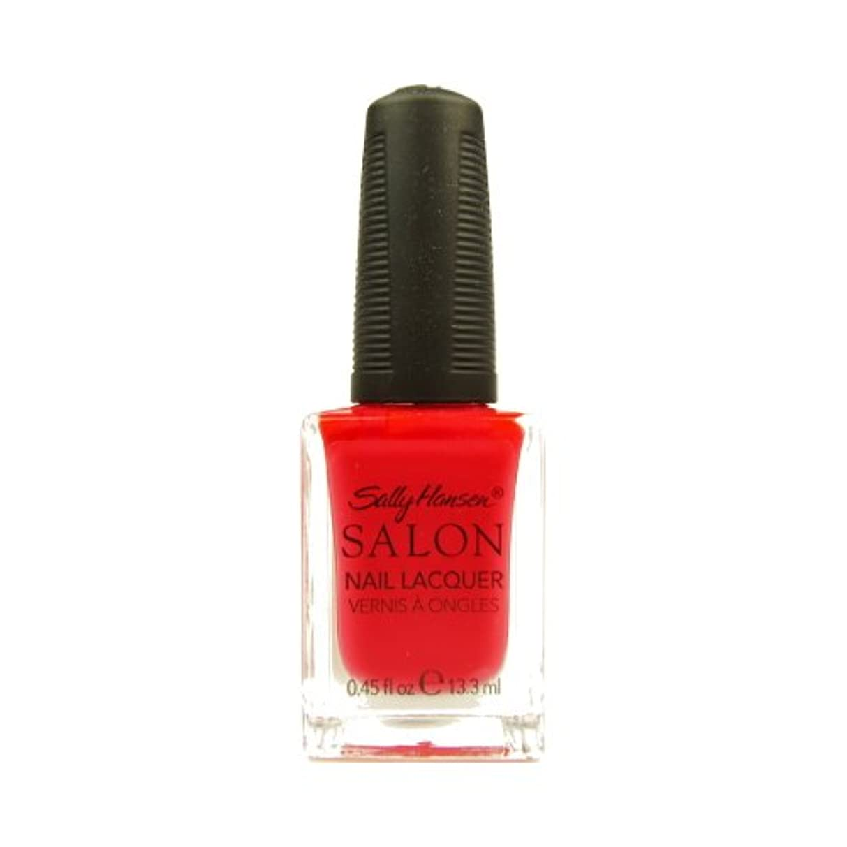 声を出して必要太平洋諸島(6 Pack) SALLY HANSEN Salon Nail Lacquer 4120 - Orange You Cute? (並行輸入品)