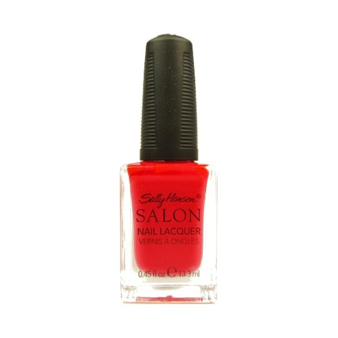 足音はげ五月(3 Pack) SALLY HANSEN Salon Nail Lacquer 4120 - Orange You Cute? (並行輸入品)