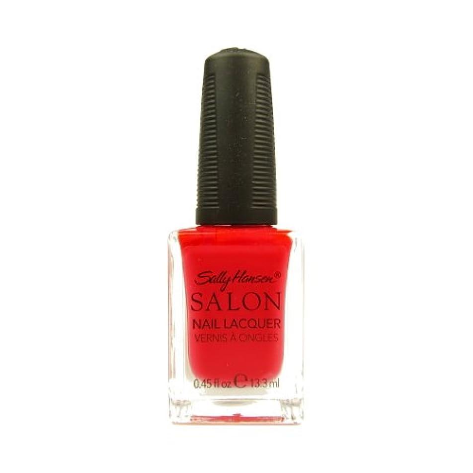 ハブ本を読む維持する(3 Pack) SALLY HANSEN Salon Nail Lacquer 4120 - Orange You Cute? (並行輸入品)