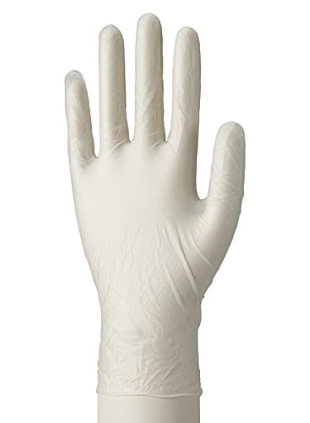 バイオリニスト梨裂け目使い捨て手袋 マイスコPVCグローブ 粉つき MY-7520(サイズ:S)100枚入り 病院採用商品