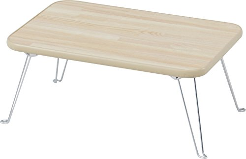 不二貿易 ローテーブル 折りたたみ ちゃぶ台 幅45×奥行30cm ナチュラル 78143