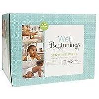 Well Beginnings Wipes Refill Sensitive, 360 ea by Well Beginnings
