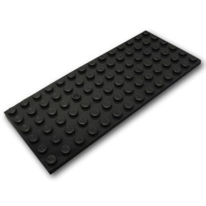 レゴブロックパーツ プレート 6 x 14:[Black / ブラック]【並行輸入品】