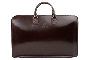 02-5258 Light Weight Brief Case: Navy