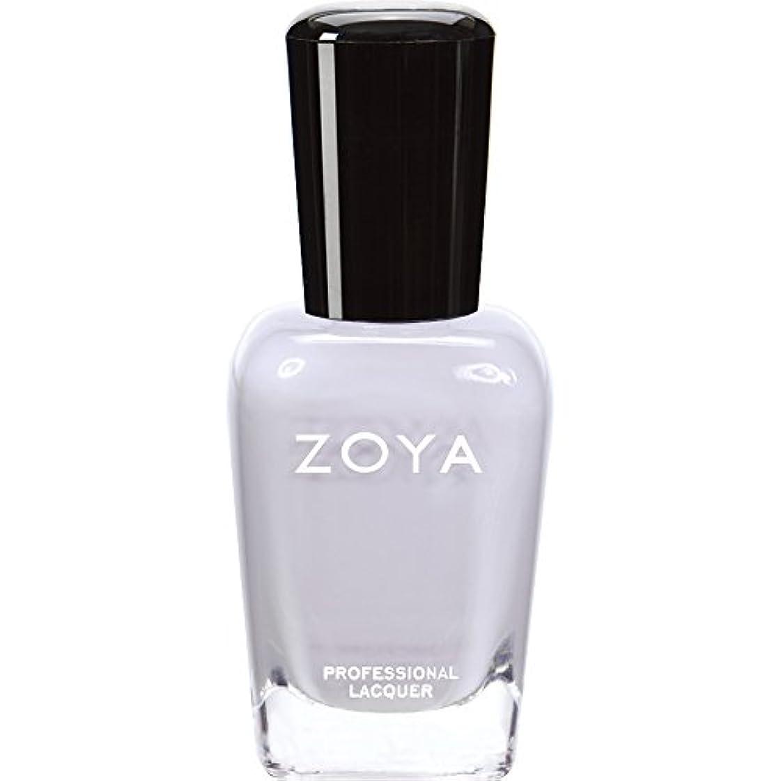水銀の流すする必要があるZOYA ゾーヤ ネイルカラー ZP593 MEGAN ミーガン 15ml  ほんのりラベンダーが色づく淡いグレー マット 爪にやさしいネイルラッカーマニキュア