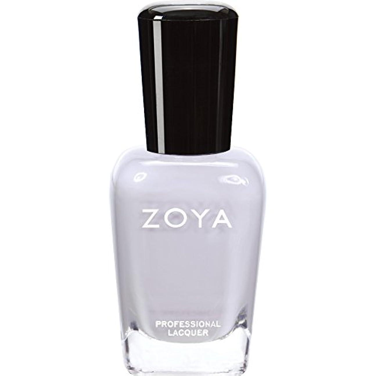 マーティフィールディングカール反対にZOYA ゾーヤ ネイルカラー ZP593 MEGAN ミーガン 15ml  ほんのりラベンダーが色づく淡いグレー マット 爪にやさしいネイルラッカーマニキュア