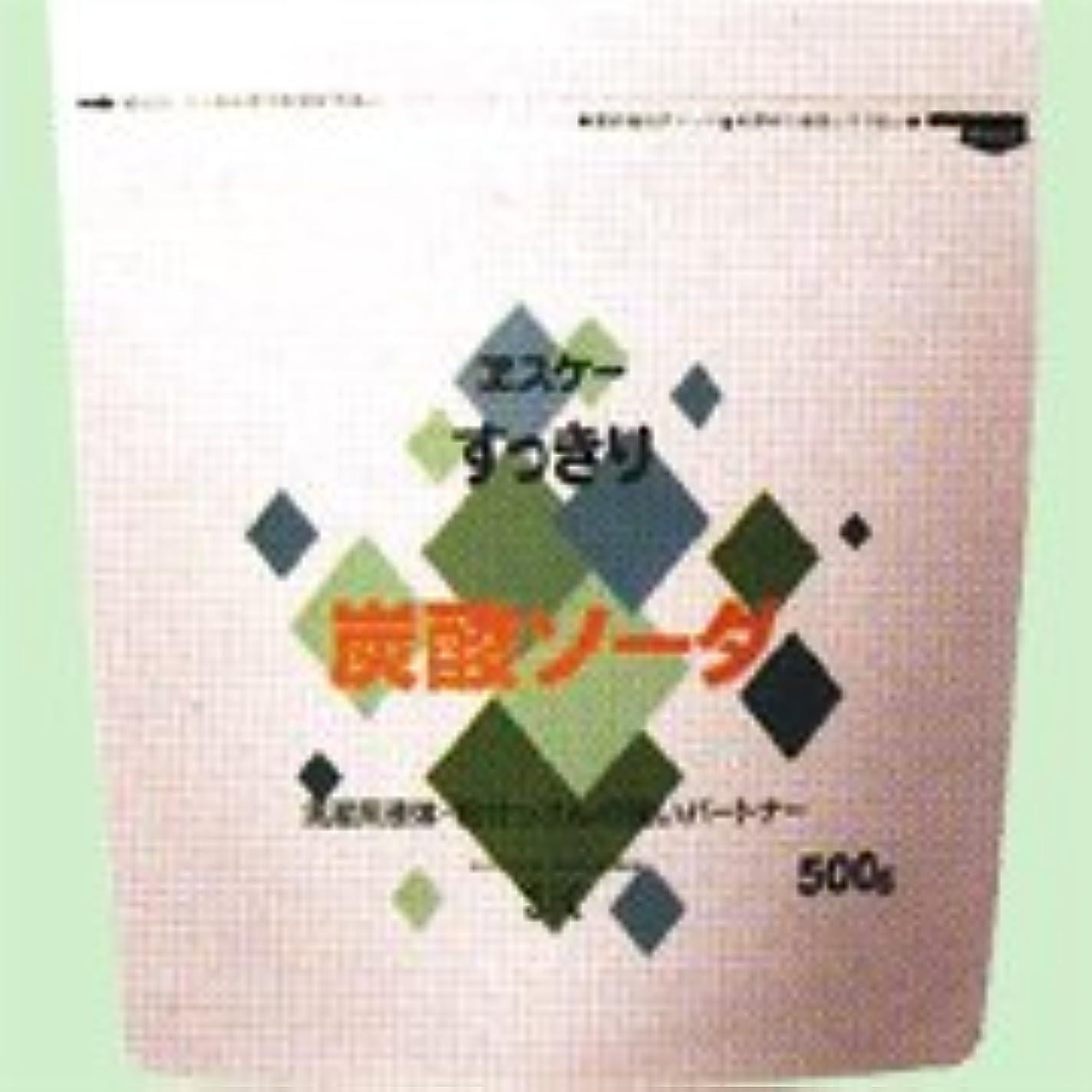 枠粘性の哲学すっきり炭酸ソーダ 500g   エスケー石鹸