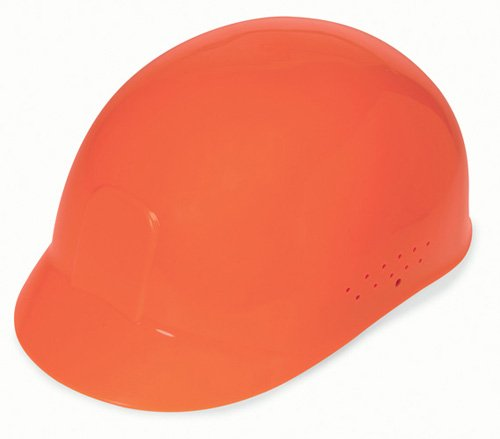 Liberty DuraShell HDPE Bump Cap with 4 Point Pinlock Suspension, Hi-Vis Orange (Case of 6) by Liberty Glove & Safety