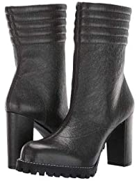 Stuart Weitzman(スチュアートワイツマン) レディース 女性用 シューズ 靴 ブーツ ミッドカフ Isobel - Asphalt Gleaming Tripon [並行輸入品]
