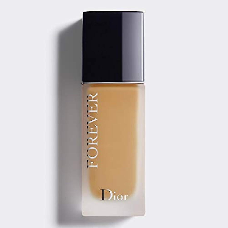 センブランス未亡人円形のクリスチャンディオール Dior Forever 24H Wear High Perfection Foundation SPF 35 - # 3WO (Warm Olive) 30ml/1oz並行輸入品