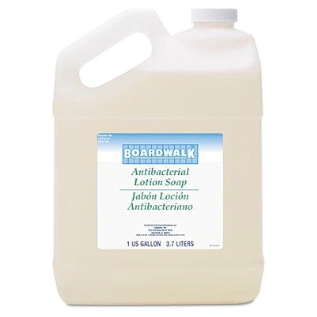 位置づける擬人逸話ボードウォーク430ea抗菌Liquid Soap、花柄Balsam、1ガロンボトル